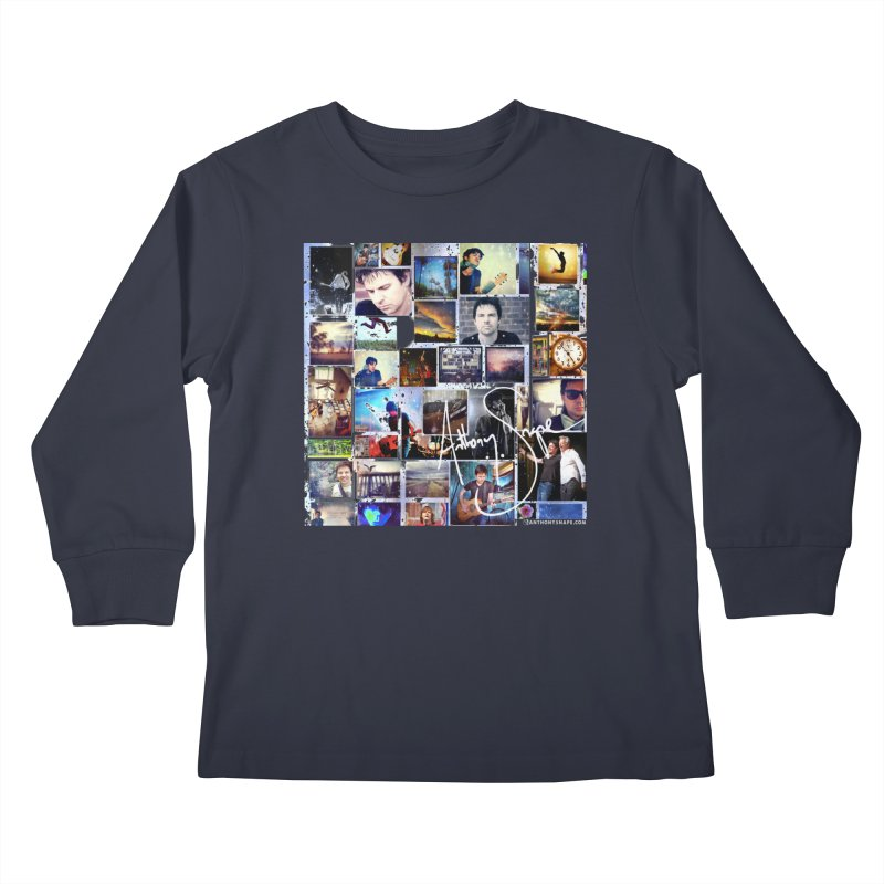 The Journey - Signature Edition Kids Longsleeve T-Shirt by Home Store - Music Artist Anthony Snape