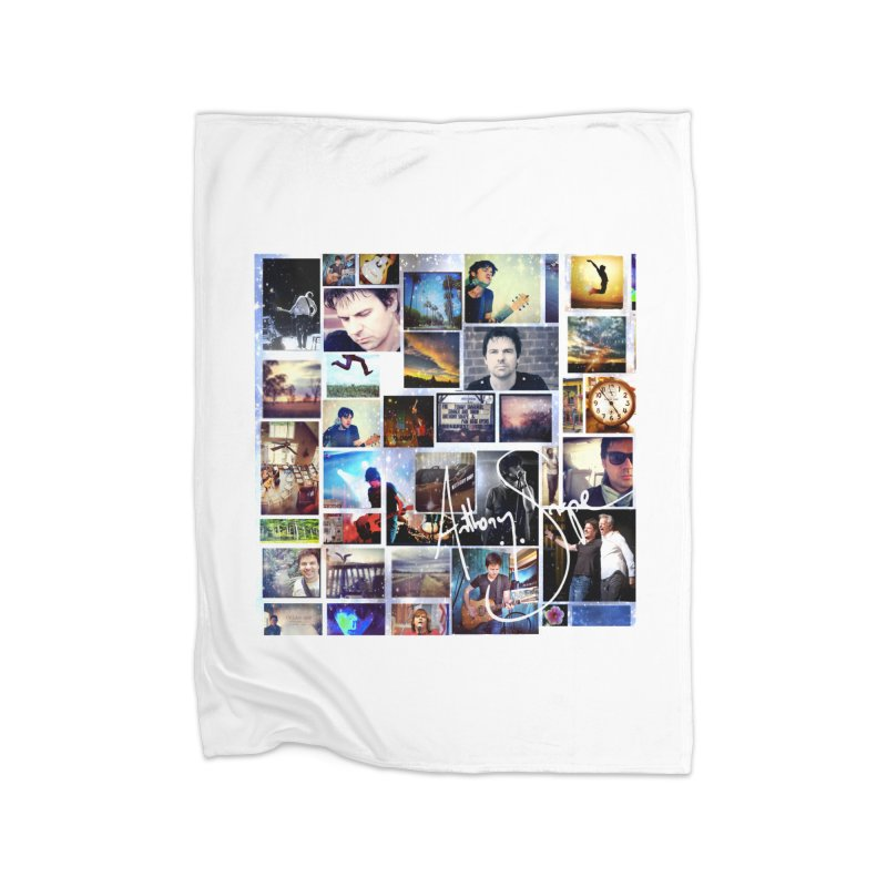 The Journey - Signature Edition Home Fleece Blanket Blanket by Home Store - Music Artist Anthony Snape