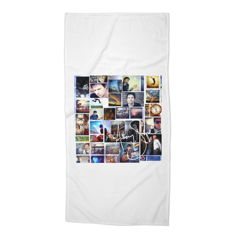 The Journey - Signature Edition Accessories Beach Towel by Music Artist Anthony Snape