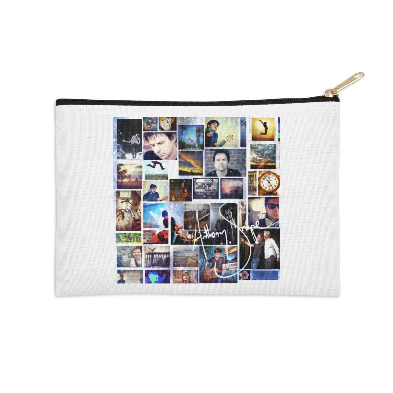 The Journey - Signature Edition Accessories Zip Pouch by Music Artist Anthony Snape