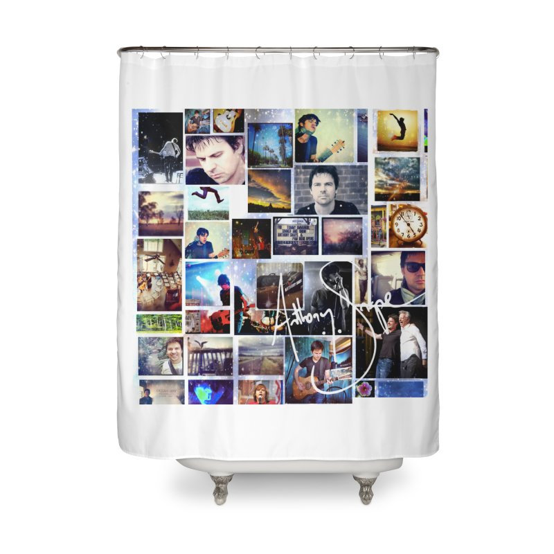 The Journey - Signature Edition Home Shower Curtain by Home Store - Music Artist Anthony Snape