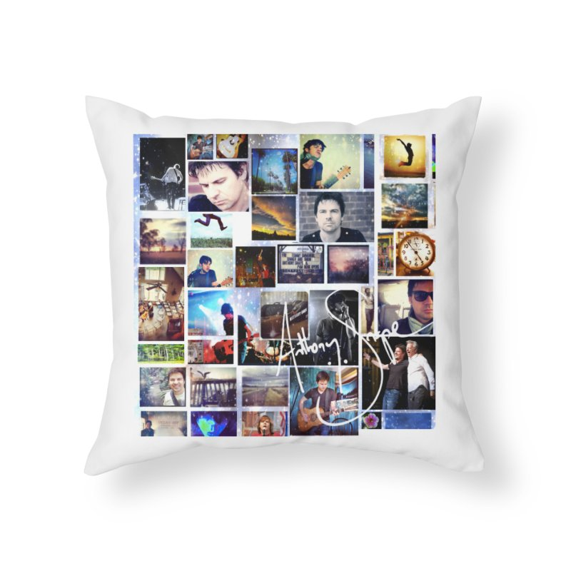 The Journey - Signature Edition Home Throw Pillow by Home Store - Music Artist Anthony Snape