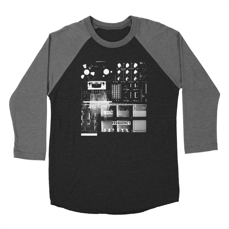 Frequency - Inspired Design Men's Baseball Triblend Longsleeve T-Shirt by Home Store - Music Artist Anthony Snape