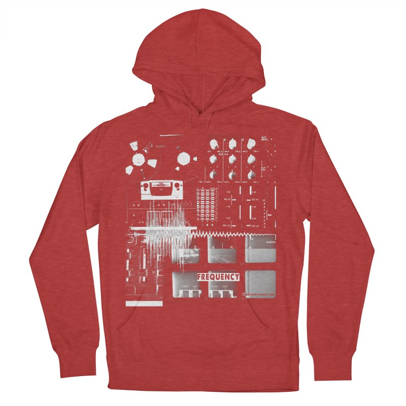 Frequency - Inspired Design Women's French Terry Pullover Hoody by Home Store - Music Artist Anthony Snape