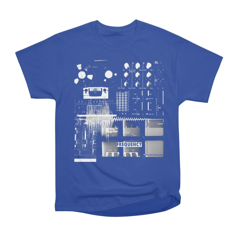 Frequency - Inspired Design Women's Heavyweight Unisex T-Shirt by Home Store - Music Artist Anthony Snape
