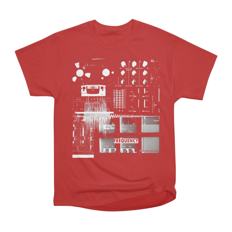 Frequency - Inspired Design Men's Heavyweight T-Shirt by Home Store - Music Artist Anthony Snape