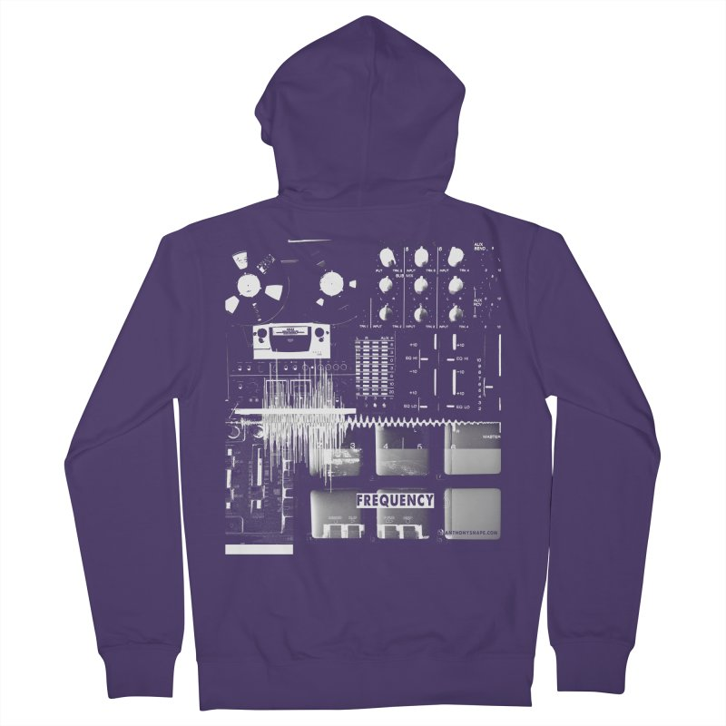 Frequency - Inspired Design Women's Zip-Up Hoody by Home Store - Music Artist Anthony Snape