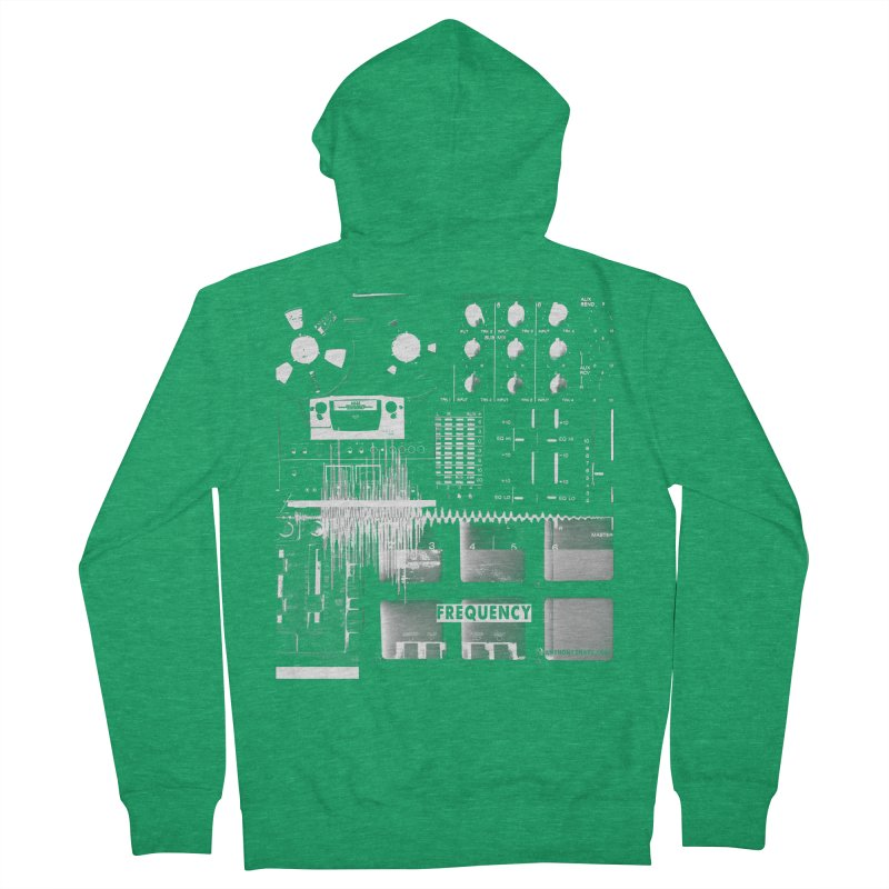 Frequency - Inspired Design Men's Zip-Up Hoody by Home Store - Music Artist Anthony Snape