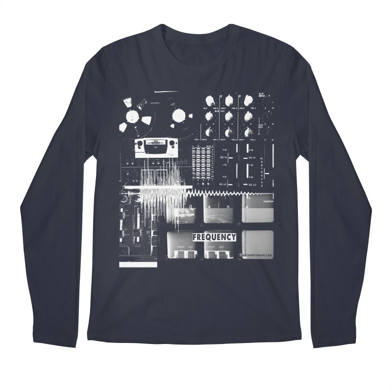 Frequency - Inspired Design Men's Regular Longsleeve T-Shirt by Home Store - Music Artist Anthony Snape