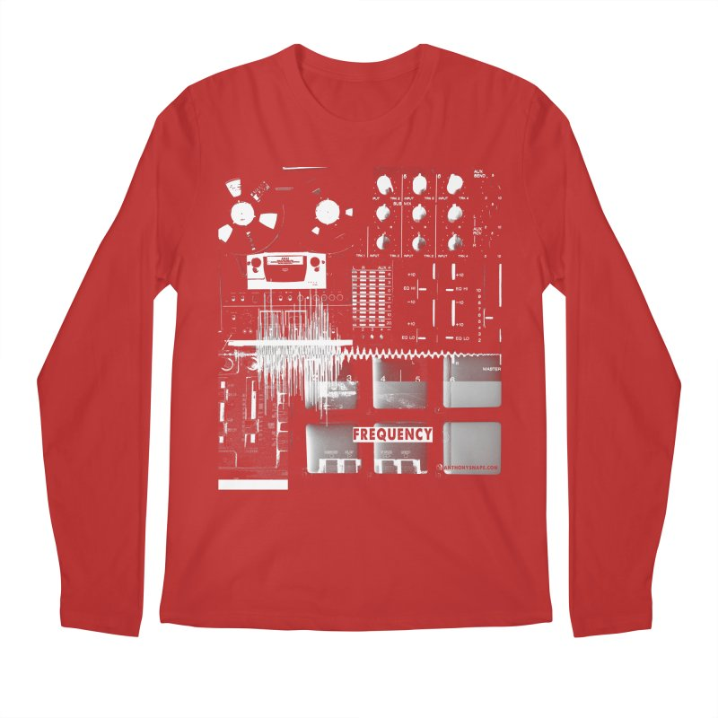 Frequency - Inspired Design Men's Regular Longsleeve T-Shirt by Home Store - Music Artist Anthony Snape