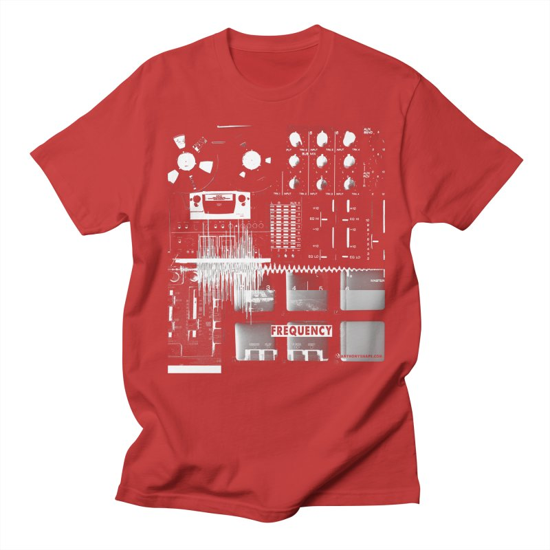 Frequency - Inspired Design Men's Regular T-Shirt by Home Store - Music Artist Anthony Snape
