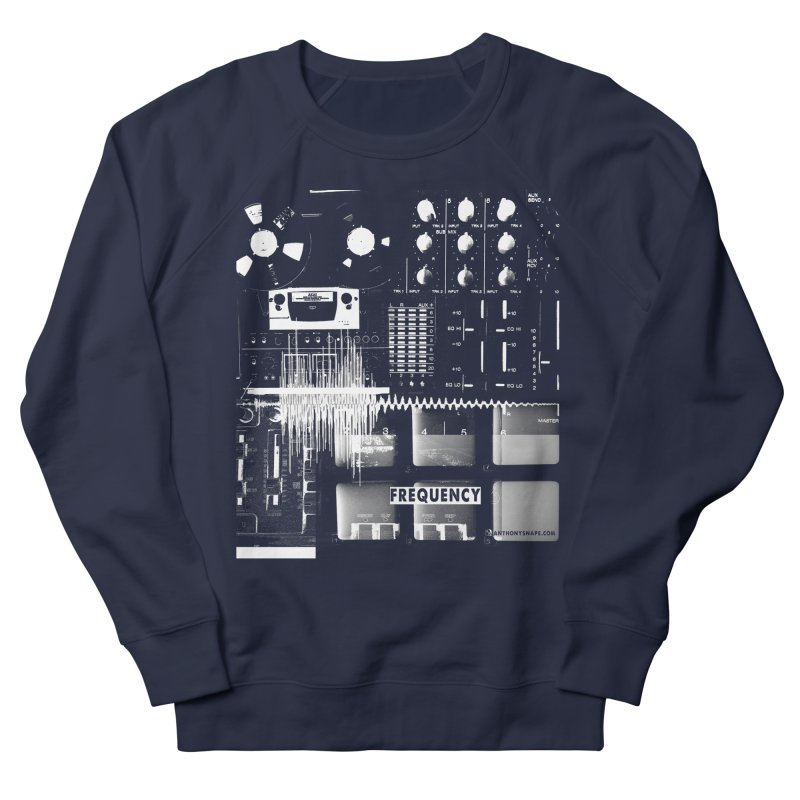 Frequency - Inspired Design Men's French Terry Sweatshirt by Home Store - Music Artist Anthony Snape