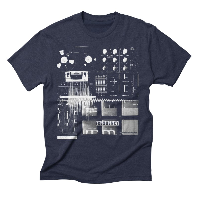 Frequency - Inspired Design Men's Triblend T-Shirt by Home Store - Music Artist Anthony Snape