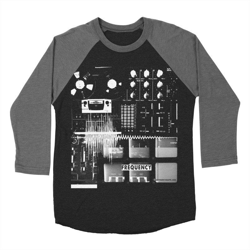 Frequency - Inspired Design Women's Baseball Triblend Longsleeve T-Shirt by Home Store - Music Artist Anthony Snape