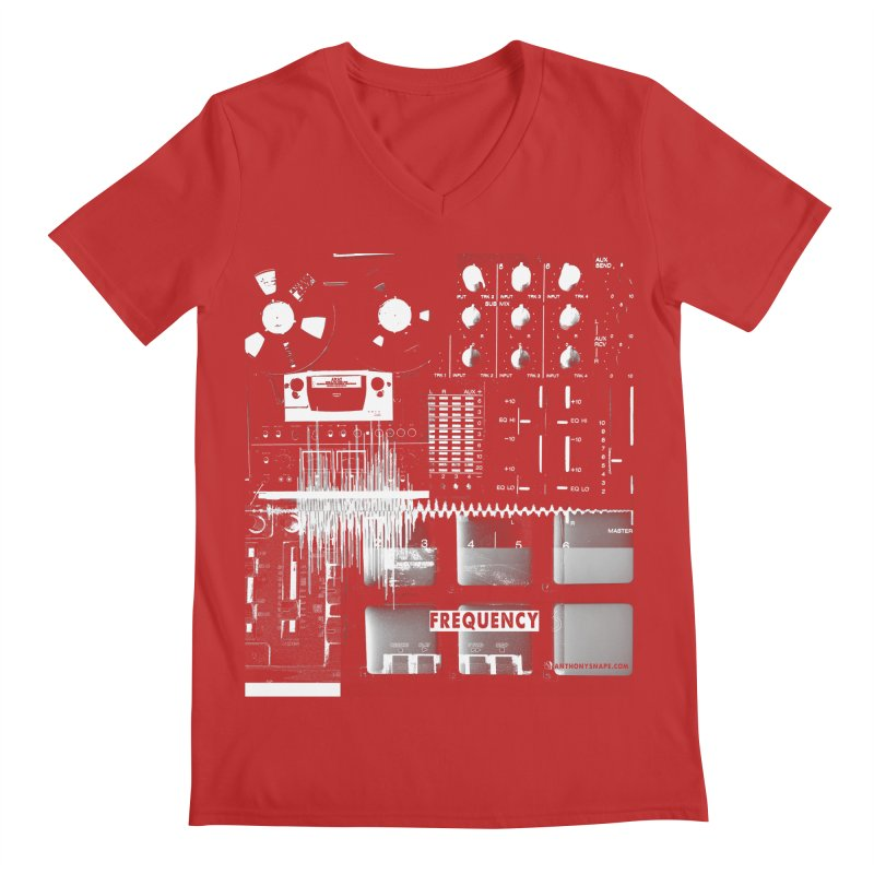 Frequency - Inspired Design Men's V-Neck by Home Store - Music Artist Anthony Snape