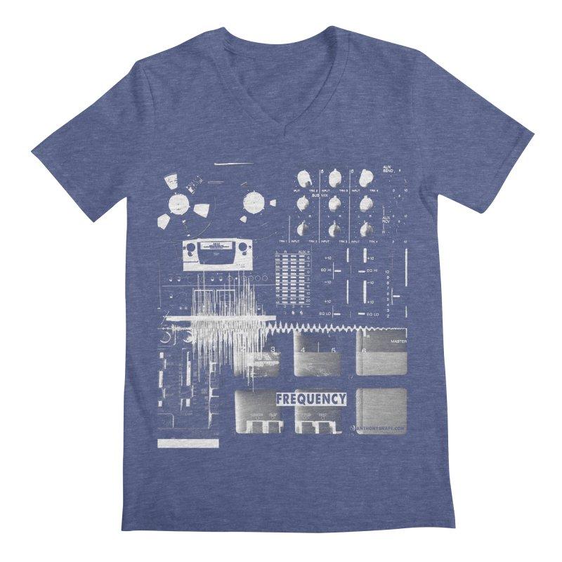 Frequency - Inspired Design Men's Regular V-Neck by Home Store - Music Artist Anthony Snape