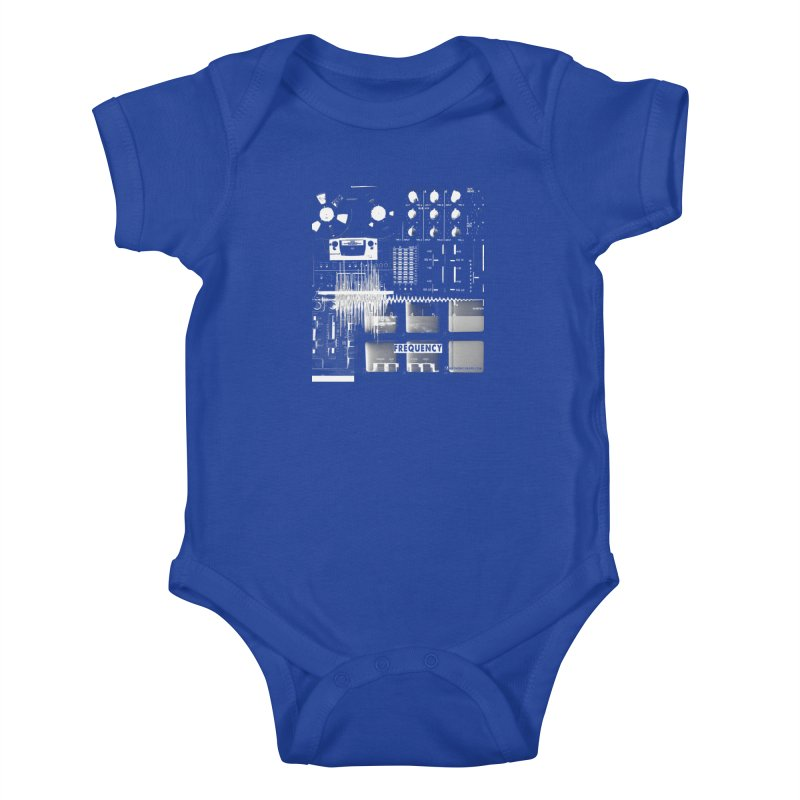 Frequency - Inspired Design Kids Baby Bodysuit by Home Store - Music Artist Anthony Snape