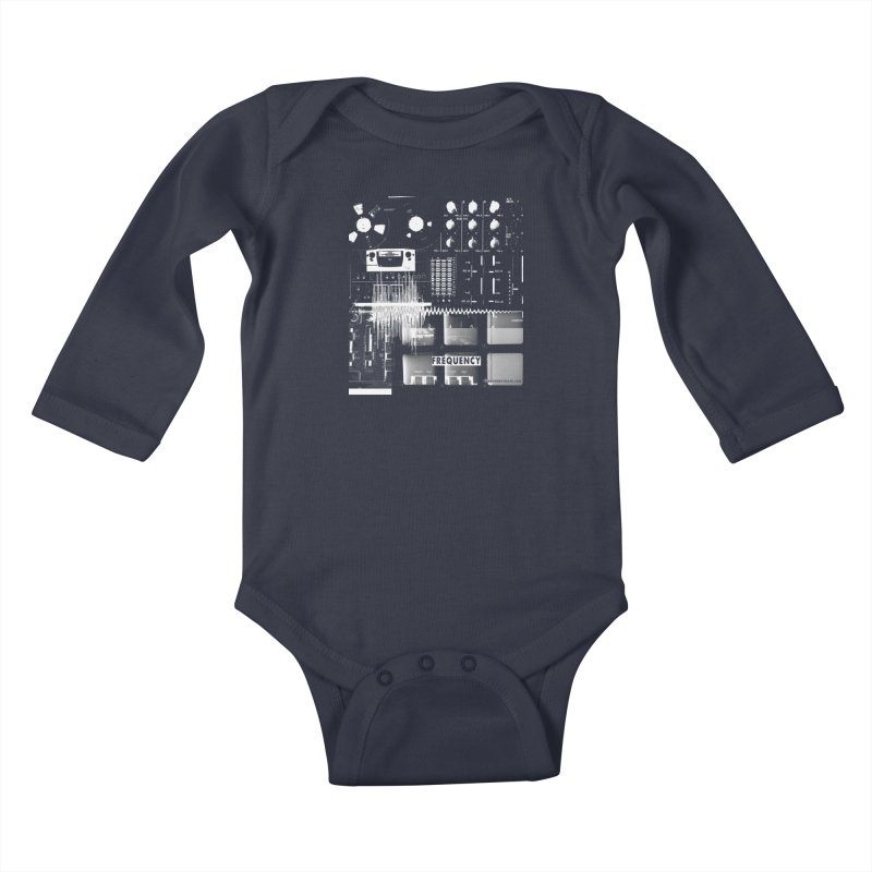 Frequency - Inspired Design Kids Baby Longsleeve Bodysuit by Home Store - Music Artist Anthony Snape