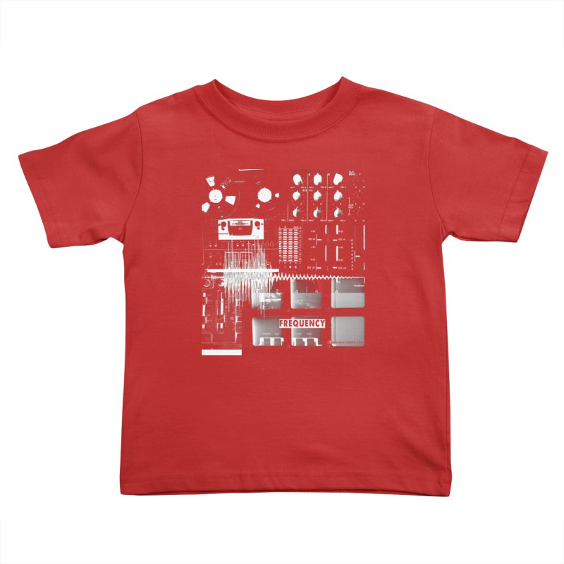 Frequency - Inspired Design Kids Toddler T-Shirt by Home Store - Music Artist Anthony Snape