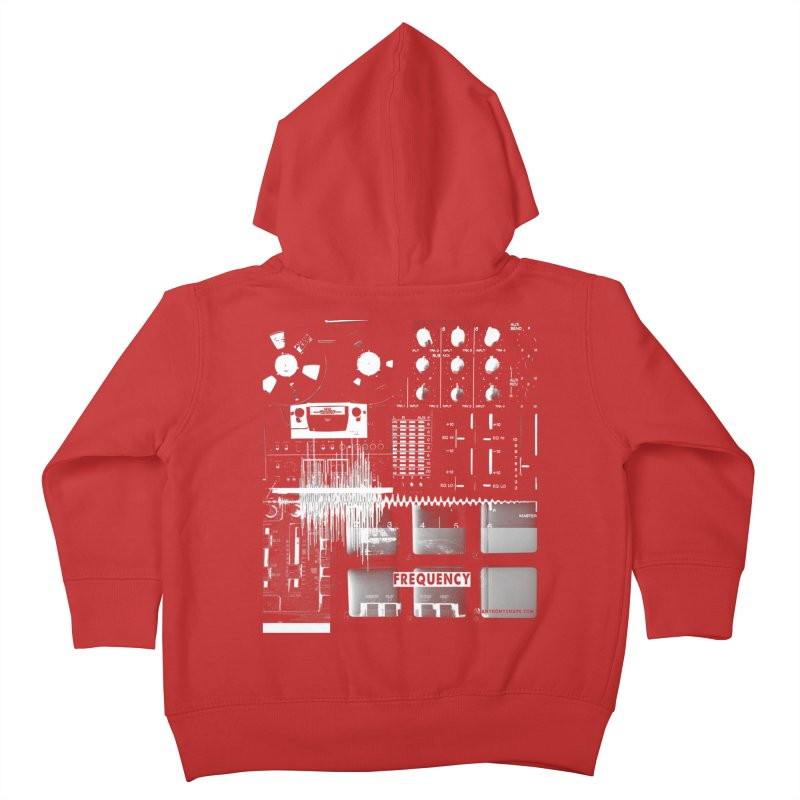 Frequency - Inspired Design Kids Toddler Zip-Up Hoody by Home Store - Music Artist Anthony Snape
