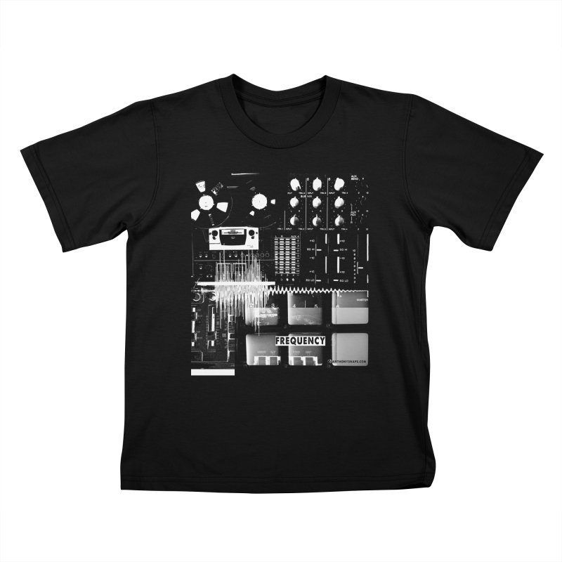 Frequency - Inspired Design Kids T-Shirt by Home Store - Music Artist Anthony Snape