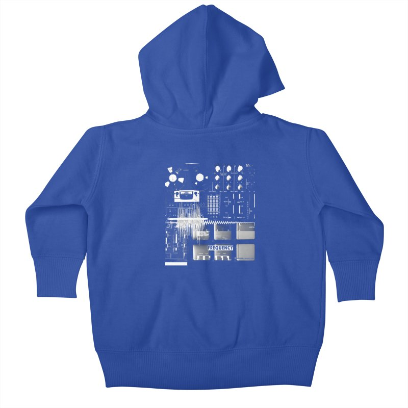 Frequency - Inspired Design Kids Baby Zip-Up Hoody by Home Store - Music Artist Anthony Snape