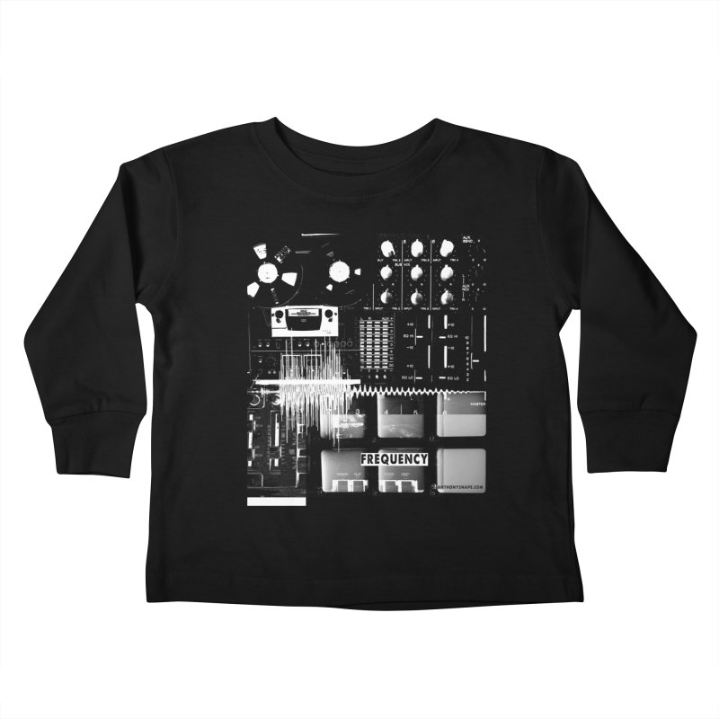 Frequency - Inspired Design Kids Toddler Longsleeve T-Shirt by Home Store - Music Artist Anthony Snape