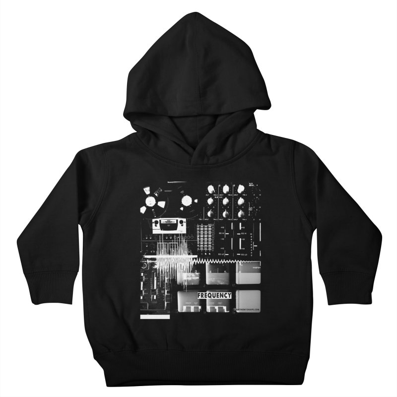 Frequency - Inspired Design Kids Toddler Pullover Hoody by Home Store - Music Artist Anthony Snape