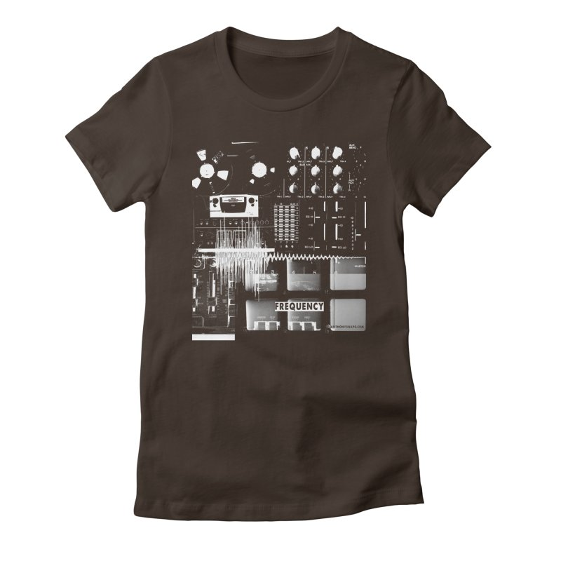 Frequency - Inspired Design Women's Fitted T-Shirt by Home Store - Music Artist Anthony Snape