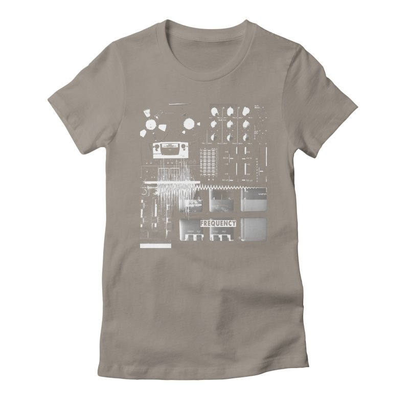 Frequency - Inspired Design Women's T-Shirt by Home Store - Music Artist Anthony Snape