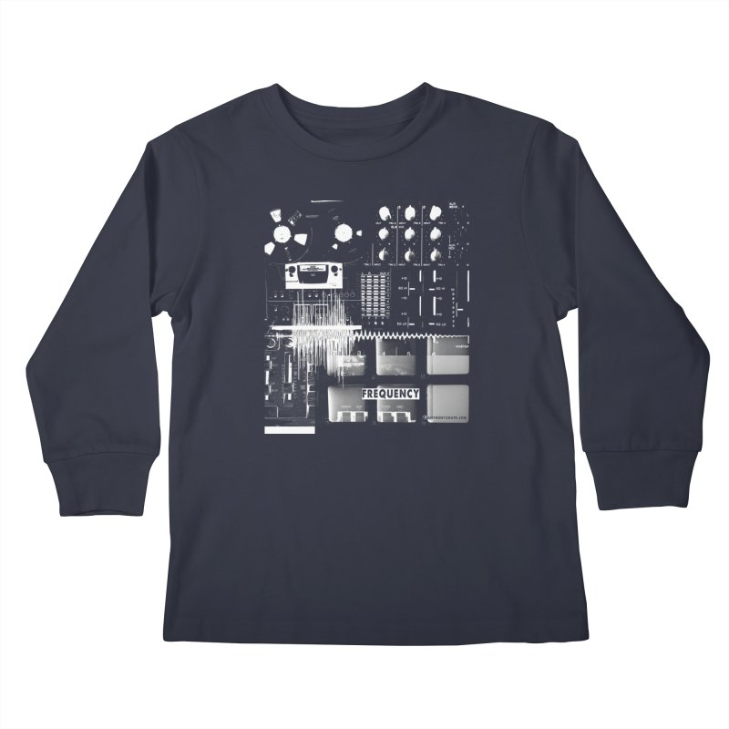 Frequency - Inspired Design Kids Longsleeve T-Shirt by Home Store - Music Artist Anthony Snape