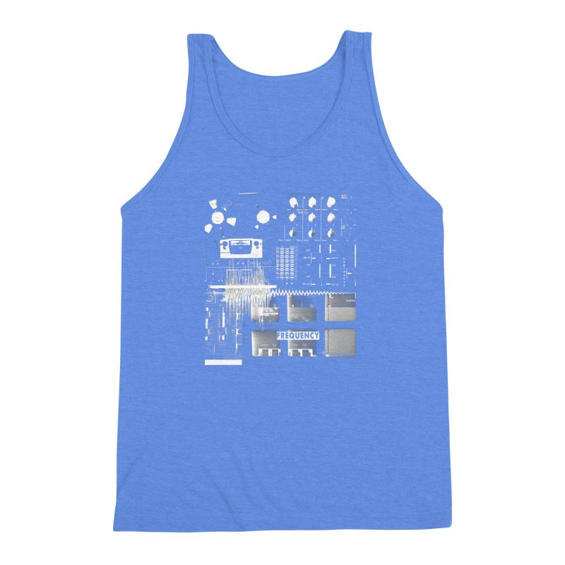 Frequency - Inspired Design Men's Triblend Tank by Home Store - Music Artist Anthony Snape