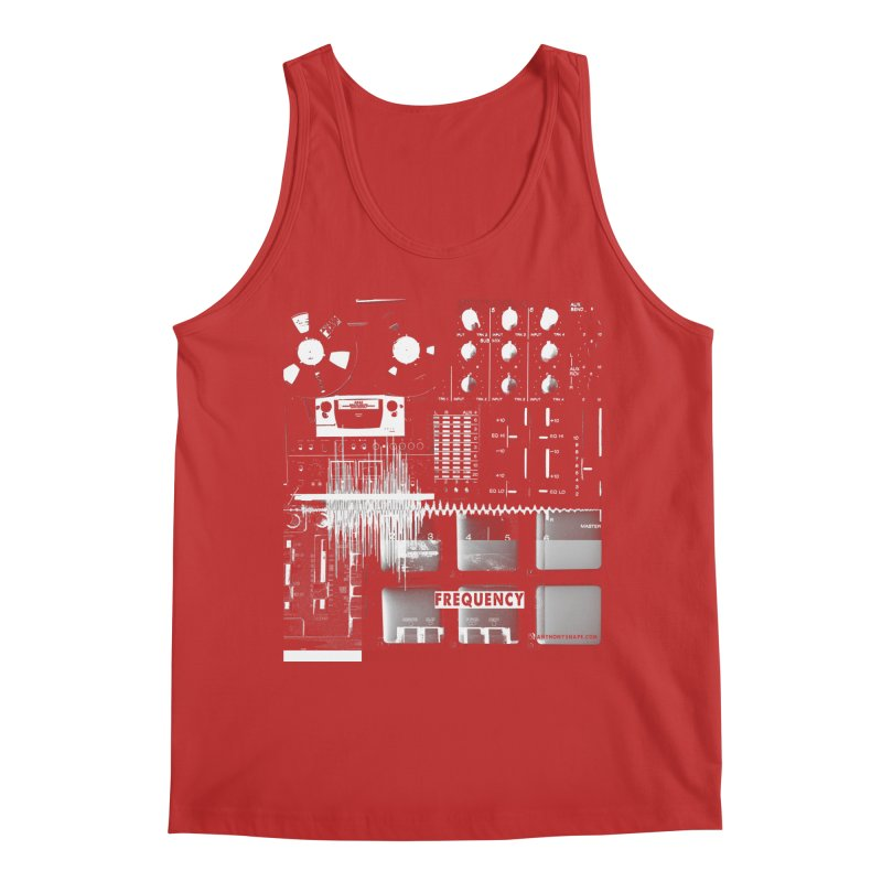 Frequency - Inspired Design Men's Regular Tank by Home Store - Music Artist Anthony Snape