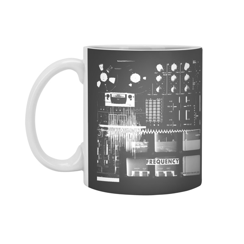 Frequency - Inspired Design Accessories Mug by Home Store - Music Artist Anthony Snape
