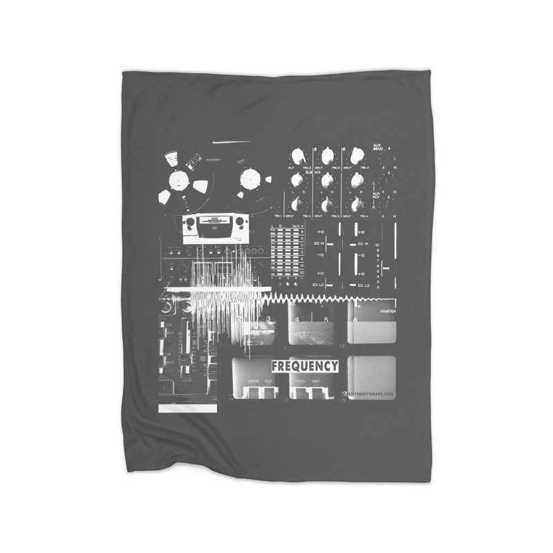 Frequency - Inspired Design Home Blanket by Home Store - Music Artist Anthony Snape