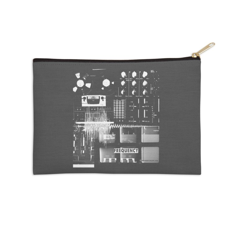 Frequency - Inspired Design Accessories Zip Pouch by Home Store - Music Artist Anthony Snape