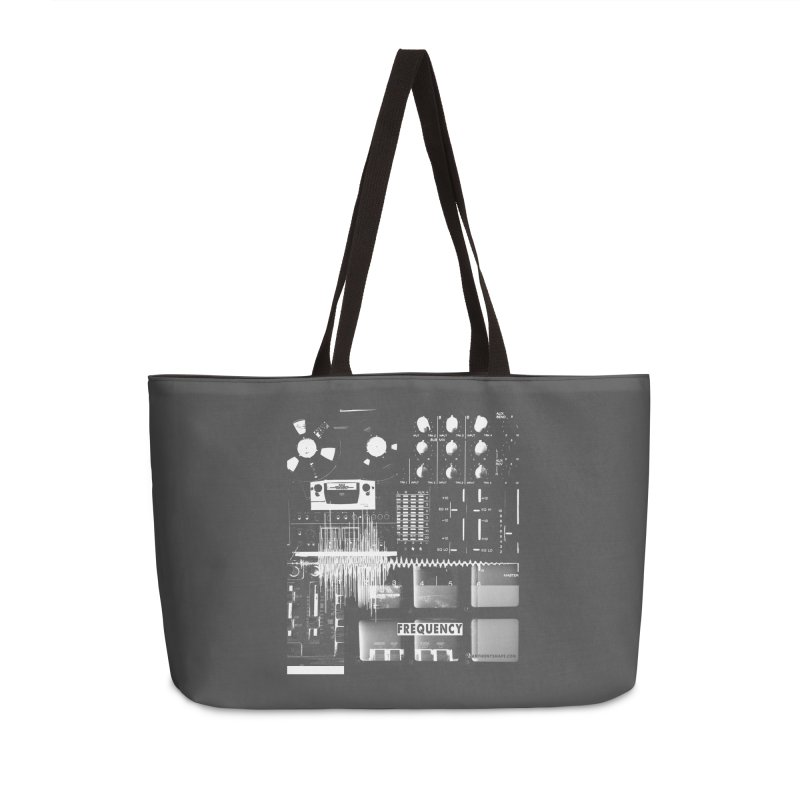 Frequency - Inspired Design Accessories Weekender Bag Bag by Home Store - Music Artist Anthony Snape