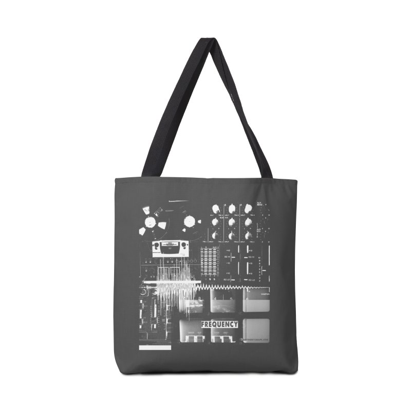 Frequency - Inspired Design Accessories Tote Bag Bag by Home Store - Music Artist Anthony Snape