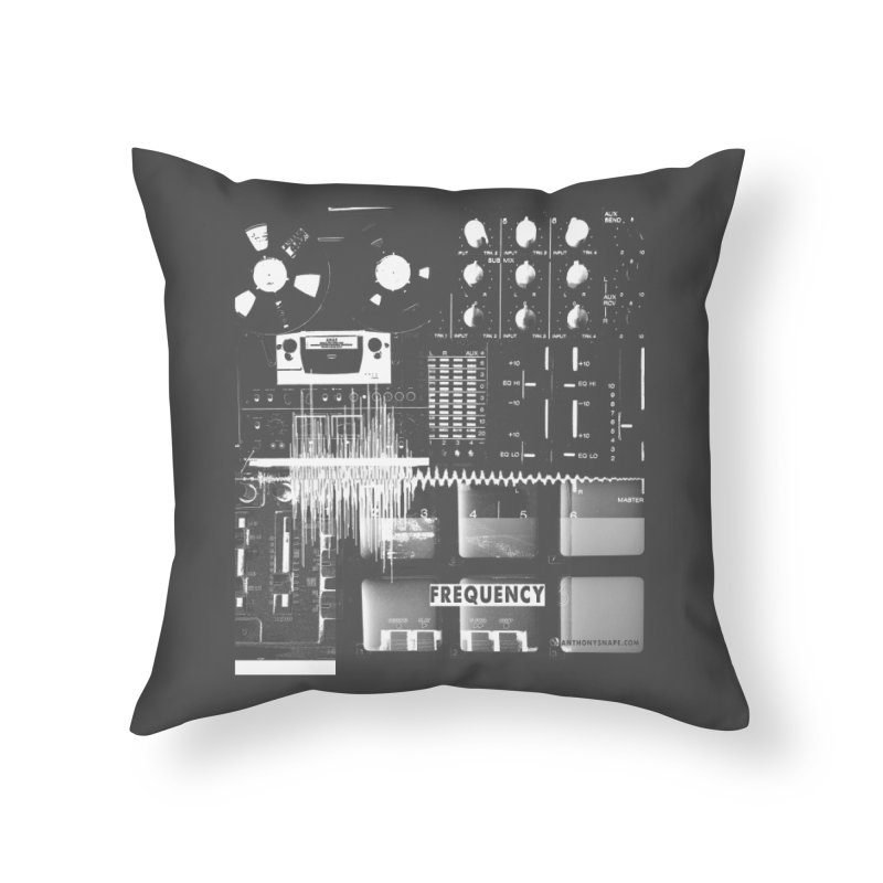 Frequency - Inspired Design Home Throw Pillow by Home Store - Music Artist Anthony Snape