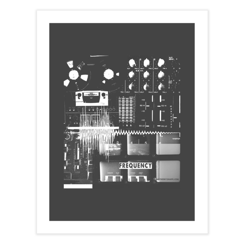 Frequency - Inspired Design Home Fine Art Print by Home Store - Music Artist Anthony Snape
