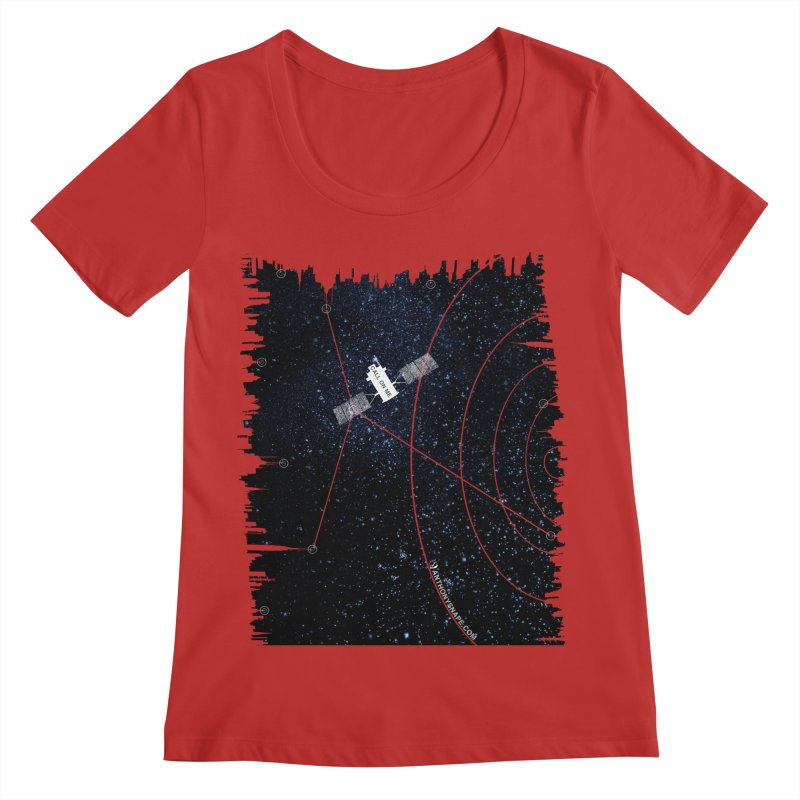 Call On Me - Inspired Design Women's Regular Scoop Neck by Home Store - Music Artist Anthony Snape