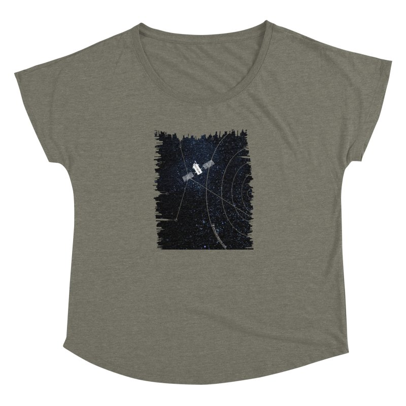 Call On Me - Inspired Design Women's Dolman Scoop Neck by Home Store - Music Artist Anthony Snape