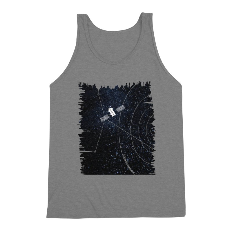 Call On Me - Inspired Design Men's Triblend Tank by Home Store - Music Artist Anthony Snape