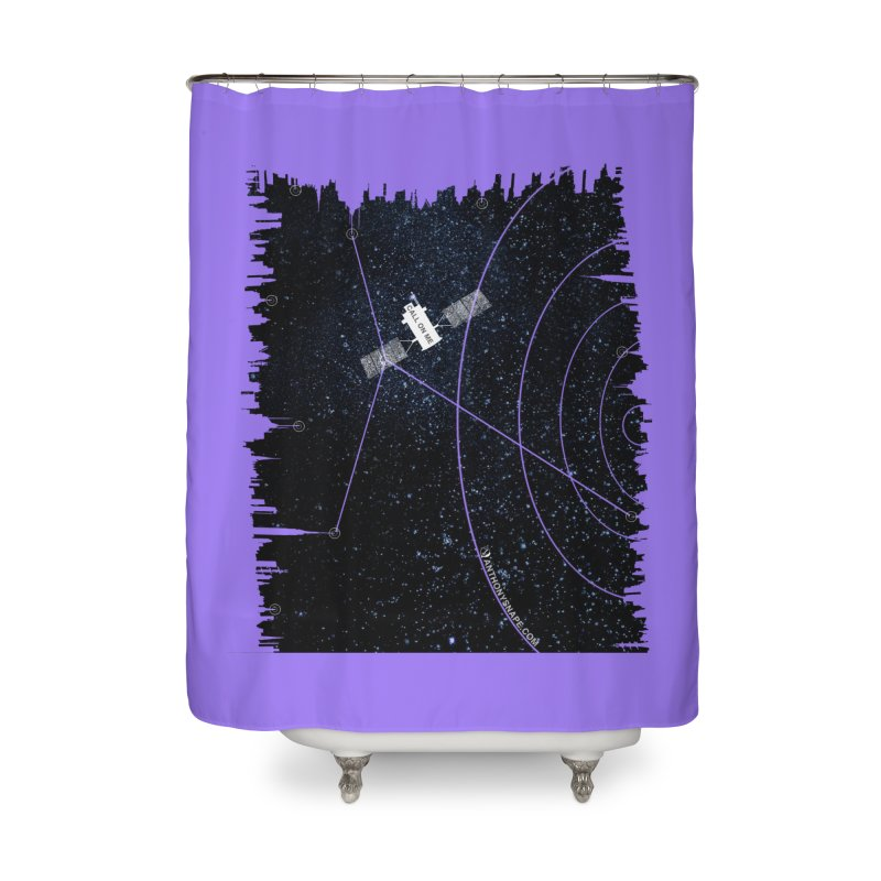 Call On Me - Inspired Design Home Shower Curtain by Home Store - Music Artist Anthony Snape