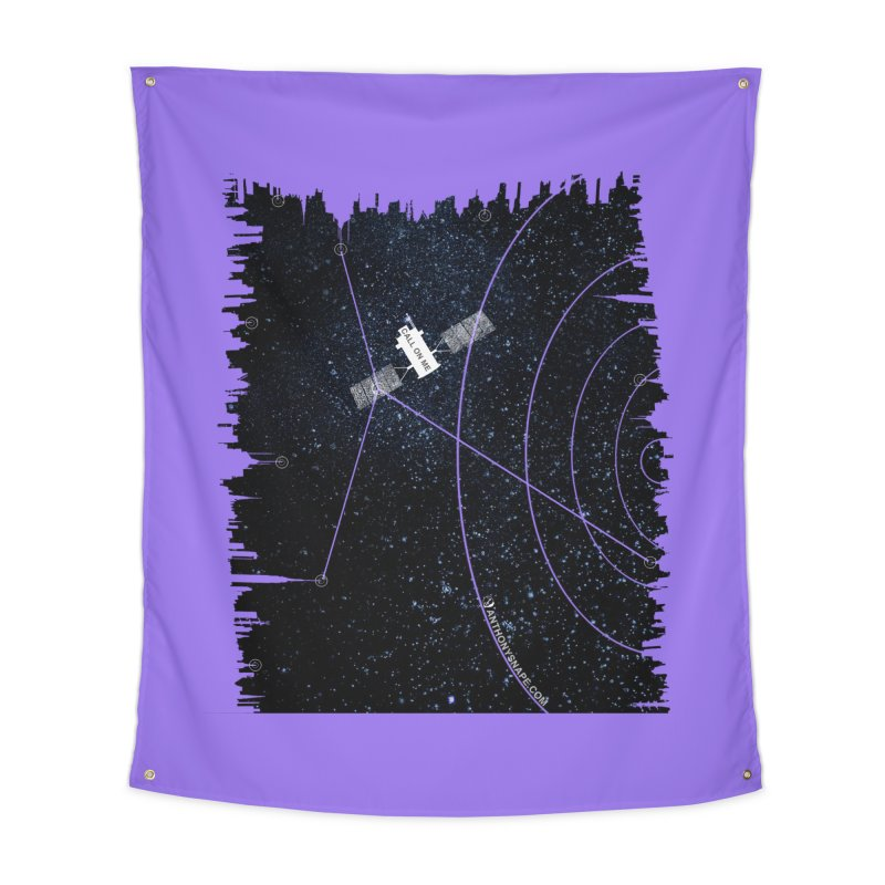 Call On Me - Inspired Design Home Tapestry by Home Store - Music Artist Anthony Snape