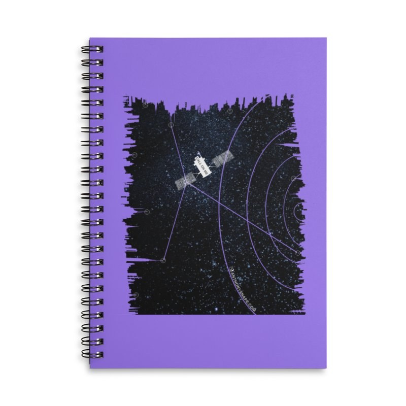 Call On Me - Inspired Design Accessories Lined Spiral Notebook by Home Store - Music Artist Anthony Snape