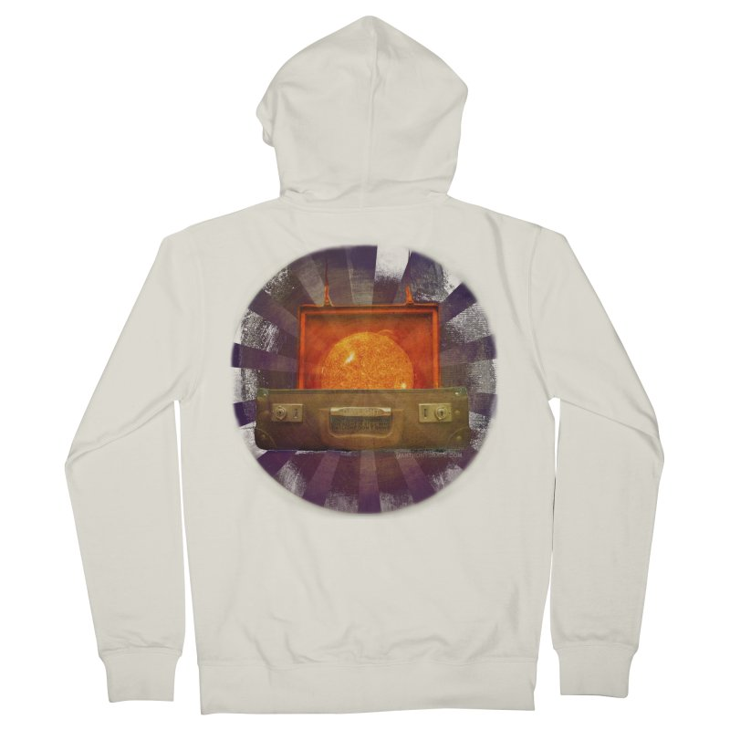 Daylight - Inspired Design Women's French Terry Zip-Up Hoody by Home Store - Music Artist Anthony Snape