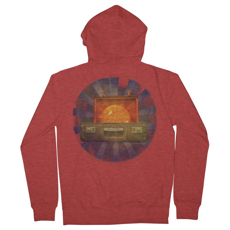 Daylight - Inspired Design Men's French Terry Zip-Up Hoody by Home Store - Music Artist Anthony Snape