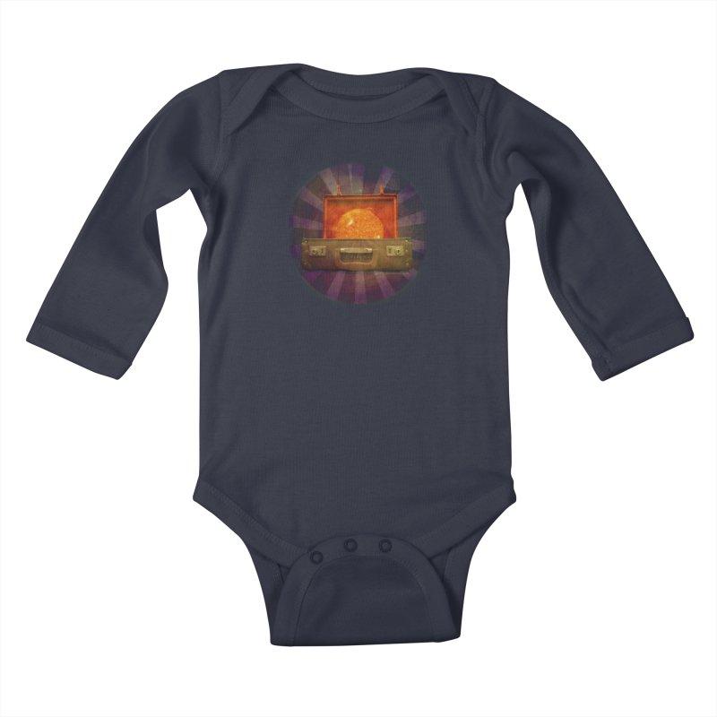 Daylight - Inspired Design Kids Baby Longsleeve Bodysuit by Home Store - Music Artist Anthony Snape