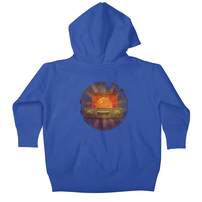 Daylight - Inspired Design Kids Baby Zip-Up Hoody by Home Store - Music Artist Anthony Snape